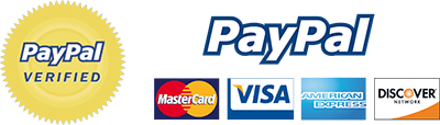 We are PayPal verified.