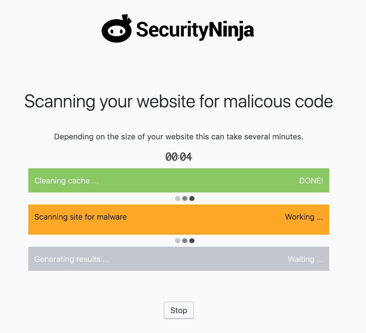 Scanning your website for malicious code